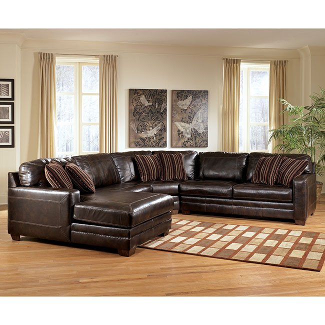 Pierce - Canyon Large Left Chaise Sectional