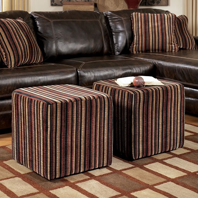 Pierce - Canyon Cube Ottomans (Set of 2)