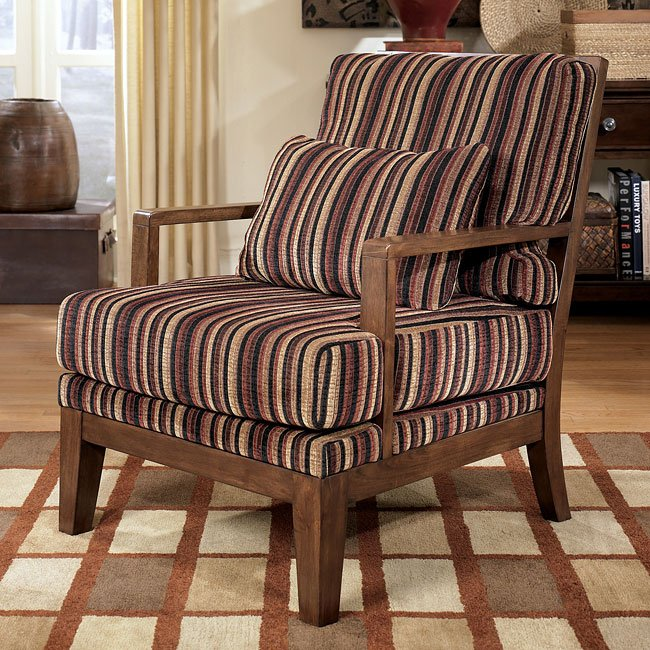 Pierce - Canyon Showood Accent Chair