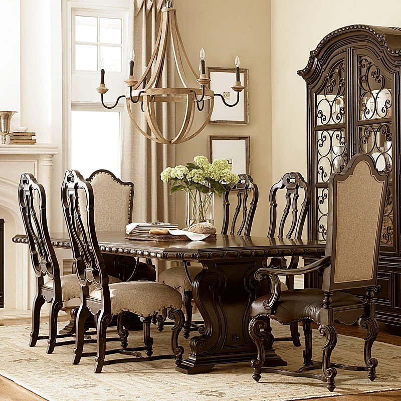Castella Valencia Dining Room Set W Chair Choices Universal Furniture Furniture Cart