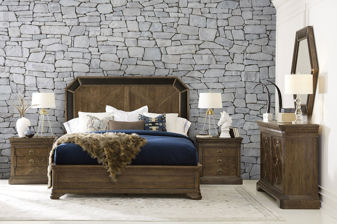 American Chapter Grand National Bedroom Set