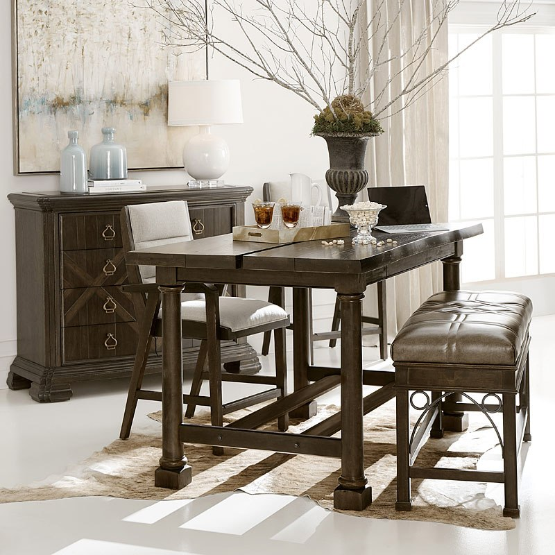 American Chapter Live-Edge Activity Dining / Office Set
