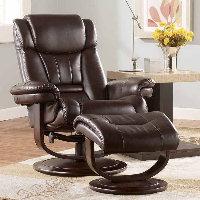 Manning DuraBlend - Mahogany Comfort Loungers