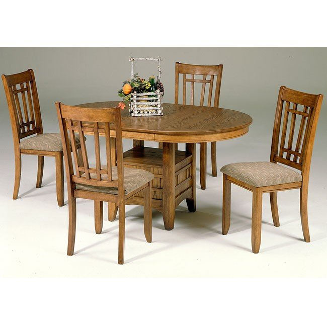 Santa Rosa Dining Room Set (Mission Oak) Liberty Furniture