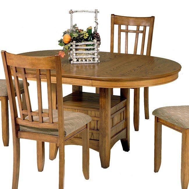 Santa Rosa Dining Room Set Mission Oak Liberty Furniture