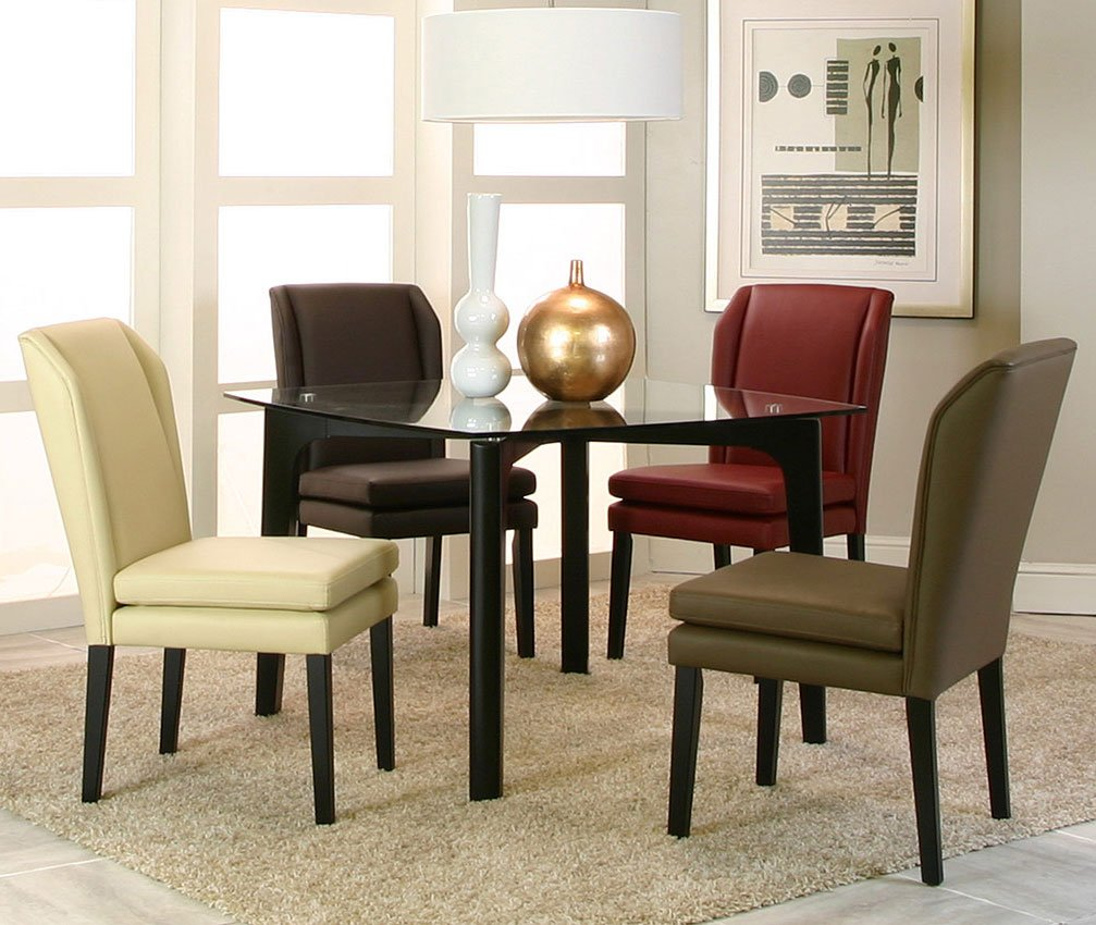 Danika Square Dining Room Set W/ Chair Choices Cramco
