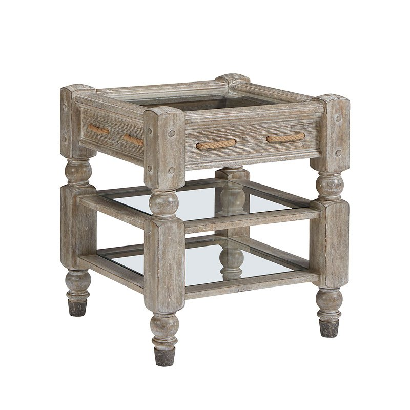 Cargo Brand Furniture: Summer Creek Cargo Net End Table ART Furniture
