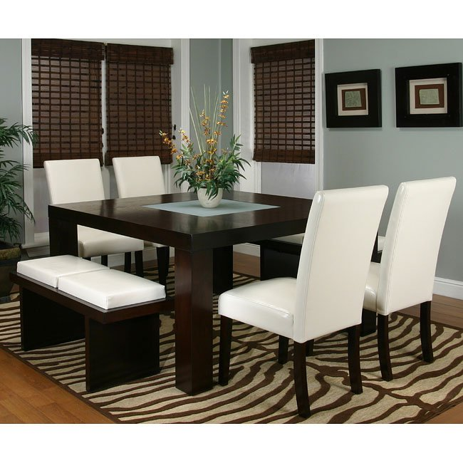 Kemper Square Dining Room Set (Ivory) Cramco, 1 Reviews