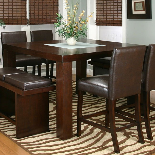 Kemper Counter Height Dining Room Set With 2 Chair Options