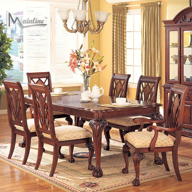 Yorkshire Formal Dining Room Set MainLine Furniture 1 Reviews