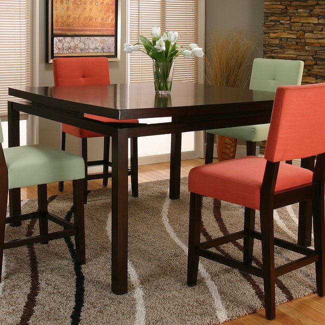 Melbourne Counter Height Dinette With 3 Chair Options
