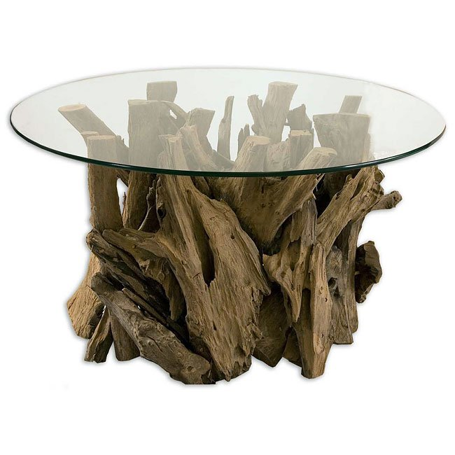 Driftwood Cocktail Table