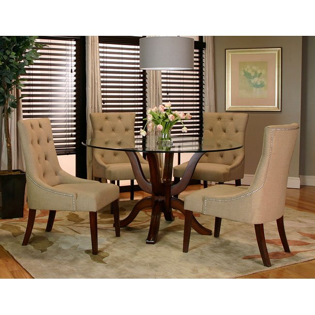 Sonnet Dining Room Set w/ Essence Chairs