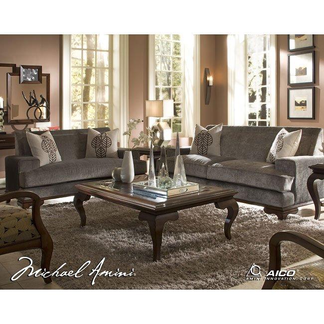 Portrait Vue Occasional Table Set Aico Furniture ...