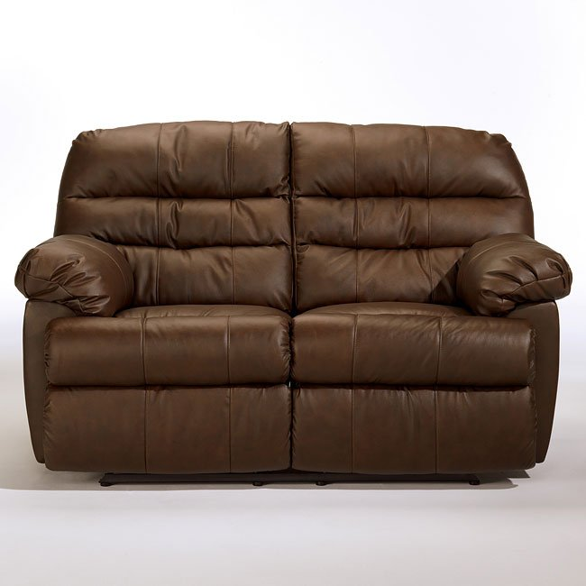 Reno - Brown Reclining Loveseat
