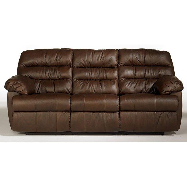 Reno - Brown Reclining Sofa