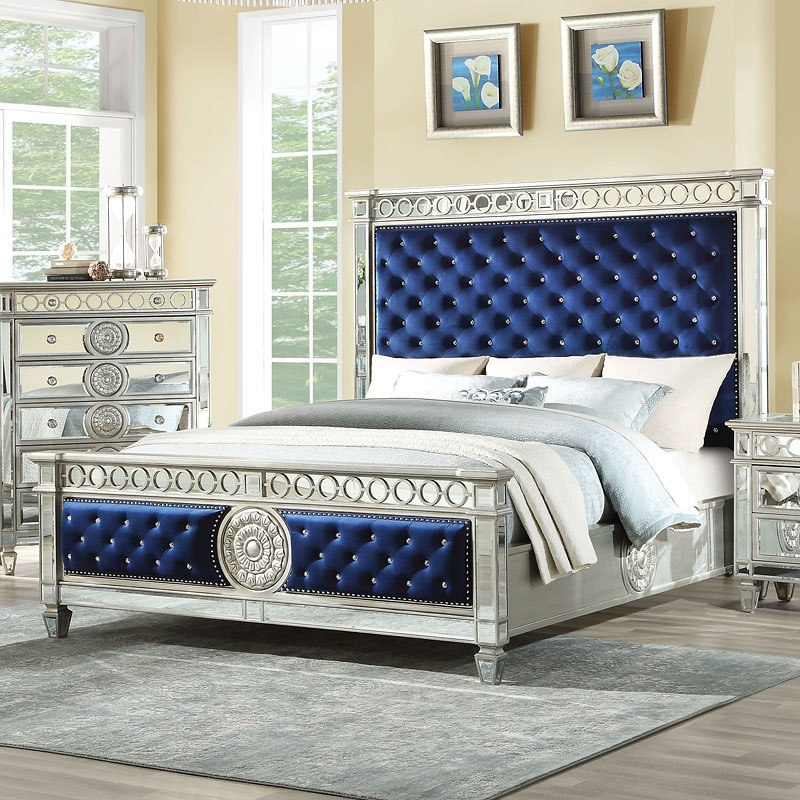 Varian panel bed acme furniture furniture cart - Ashley wilkes bedroom collection ...