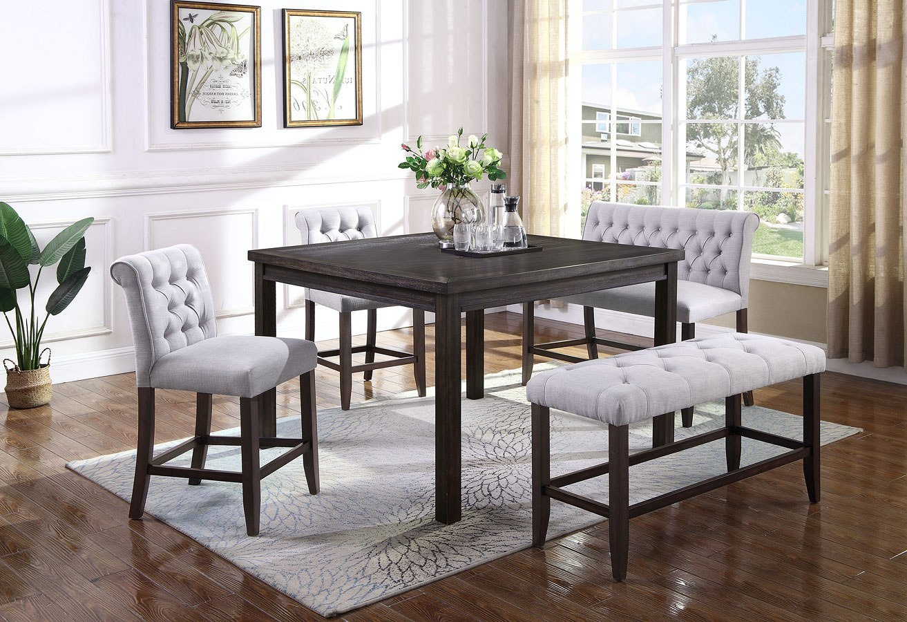 Palmer Counter Height Dining Room Set Crown Mark Furniture