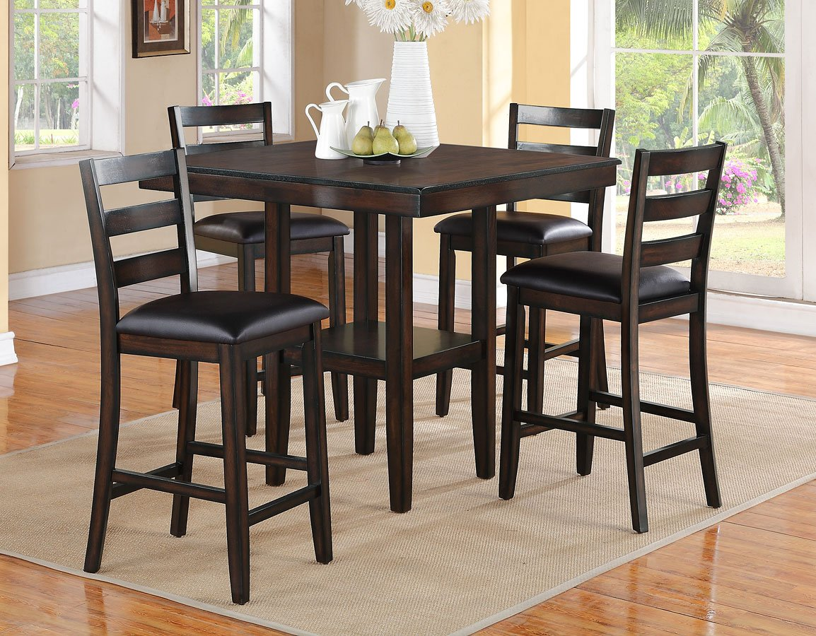 Tahoe 5 Piece Counter Height Dining Set