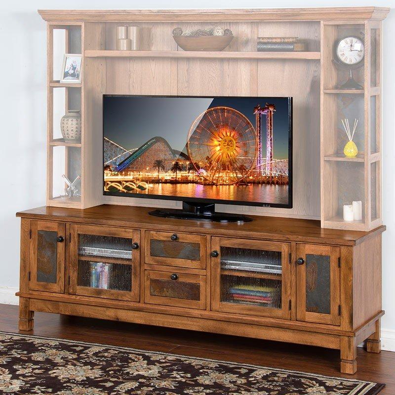 Sedona 27 Inch Height Tv Console Sunny Designs Furniture