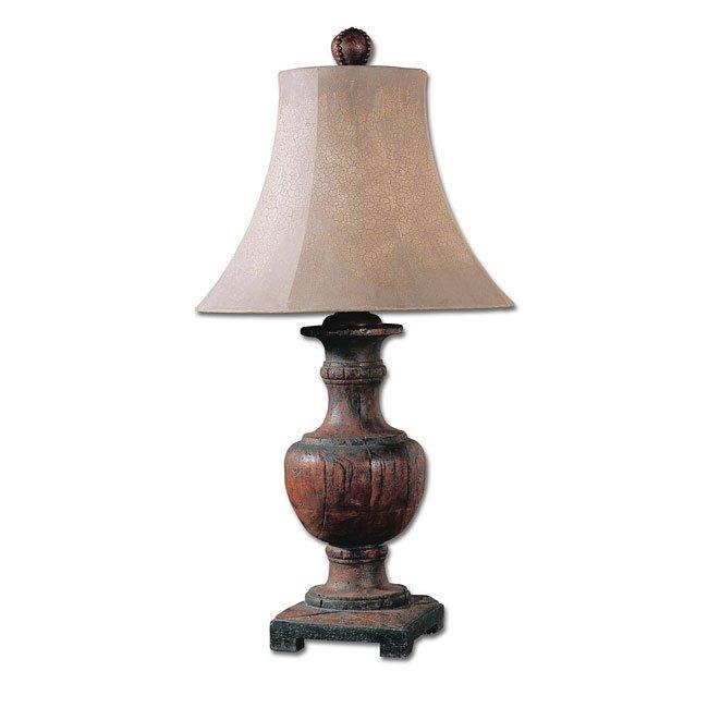 Woodman Dark Table Lamp