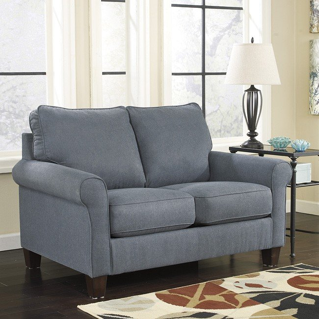 Zeth Denim Twin Sofa Sleeper