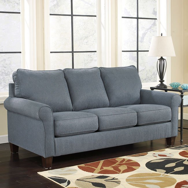 Zeth Denim Full Sofa Sleeper