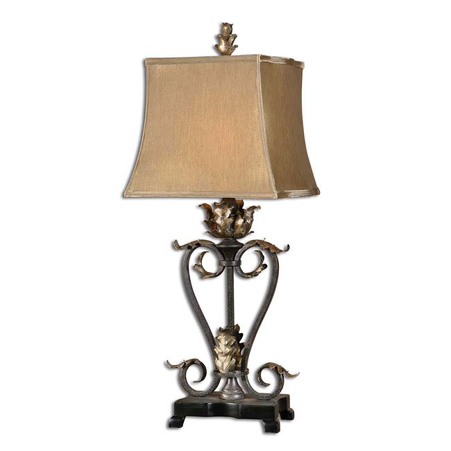 Tuscan Leaves Table Lamp