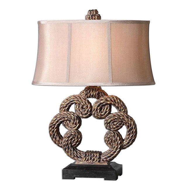 Twisted Rope Table Lamp