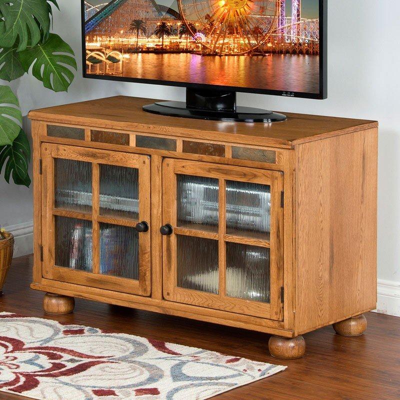 Sedona 42 Inch Tv Console Sunny Designs Furniture Cart