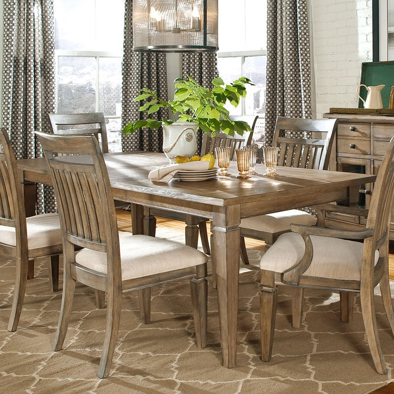 Brownstone Village Leg Dining Table Legacy Classic Furniture Cart
