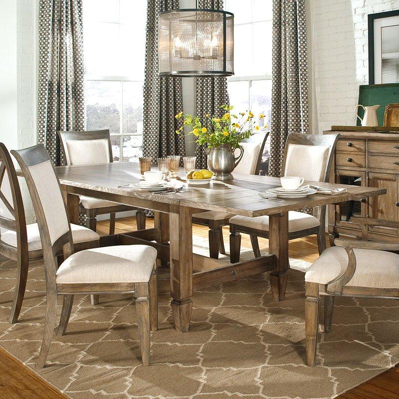 Brownstone Village Trestle Dining Room Set Legacy Classic