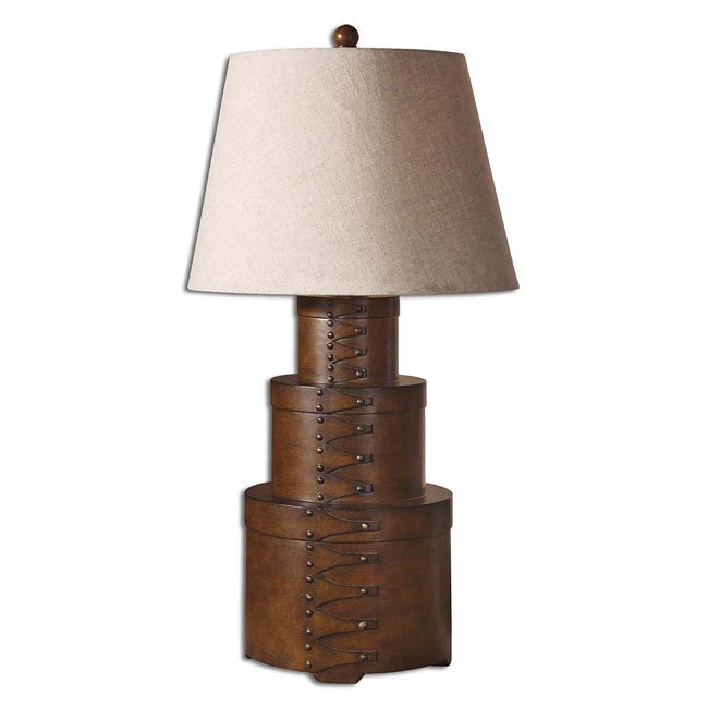 Janica Brown Table Lamp