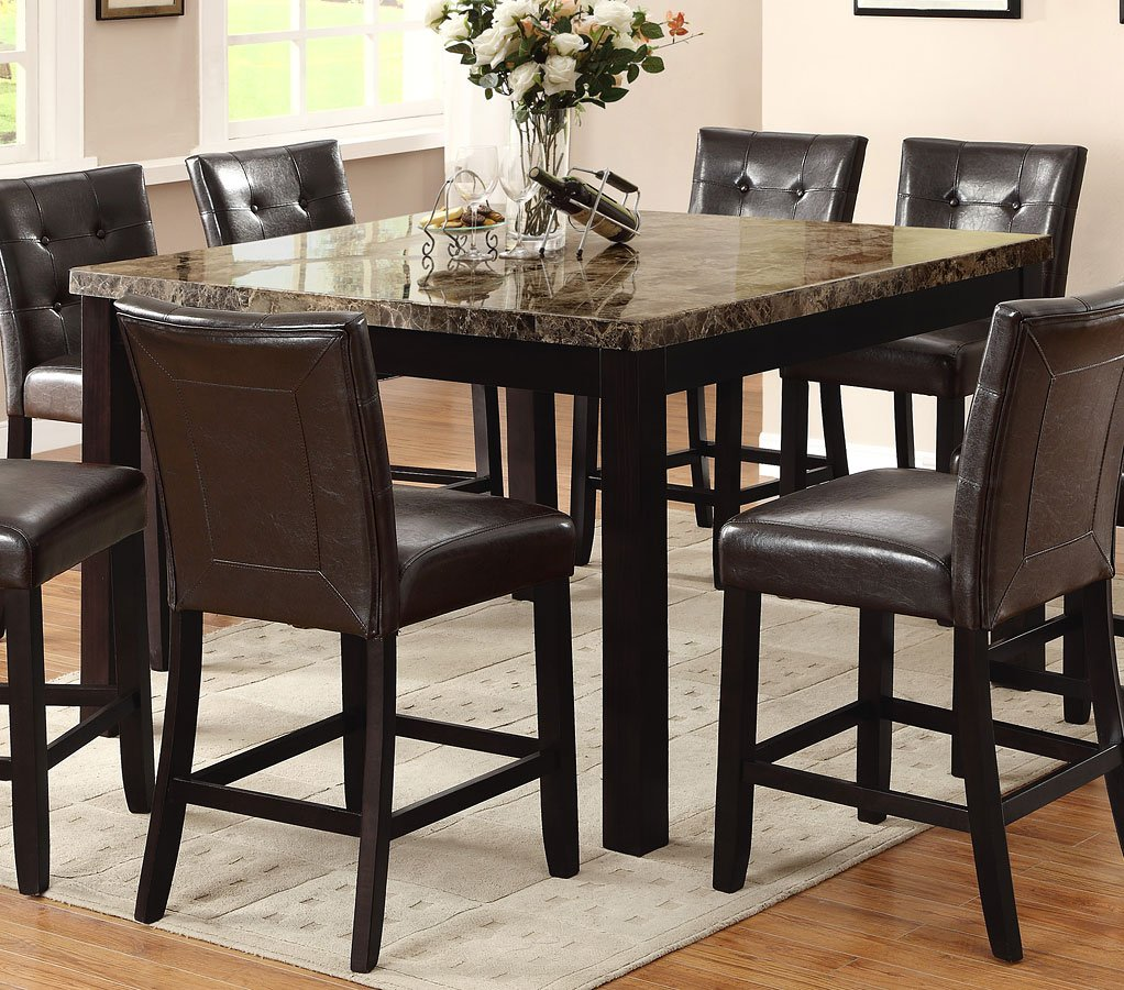 Bruce Counter Height Table Crown Mark Furniture