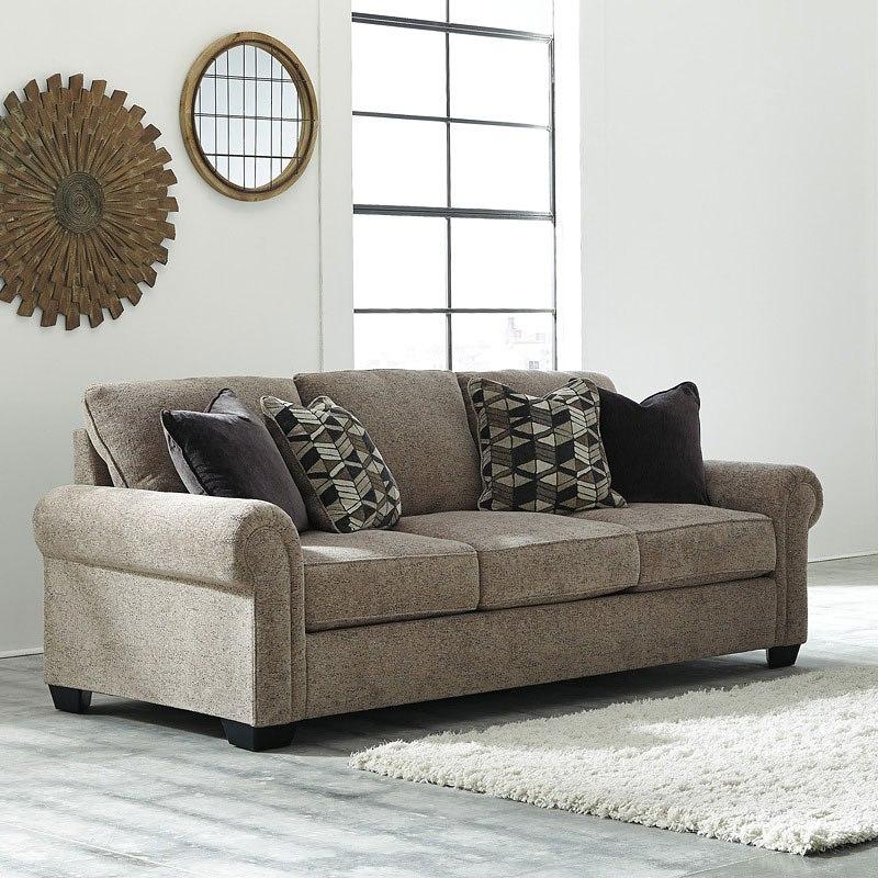 Fehmarn Toffee Sofa Benchcraft Furniture Cart