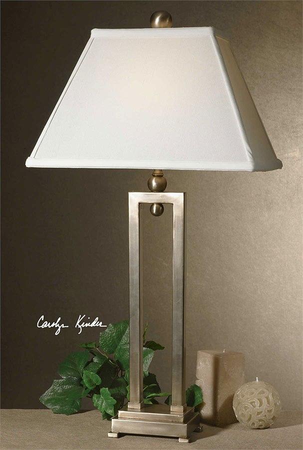 Conrad Table Lamp (Silver)