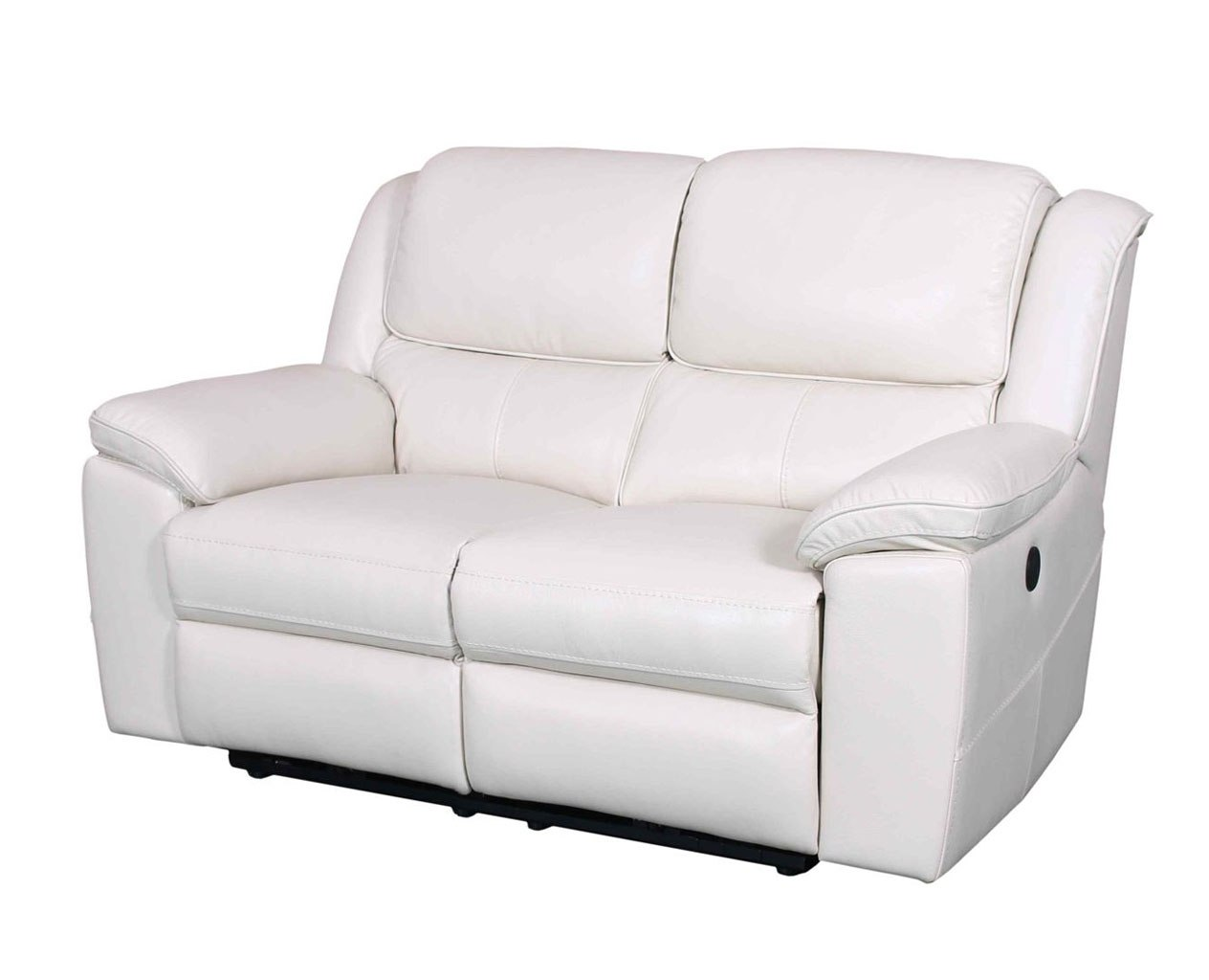 Picture of: Laguna Power Reclining Loveseat White Barcalounger Furniture Cart