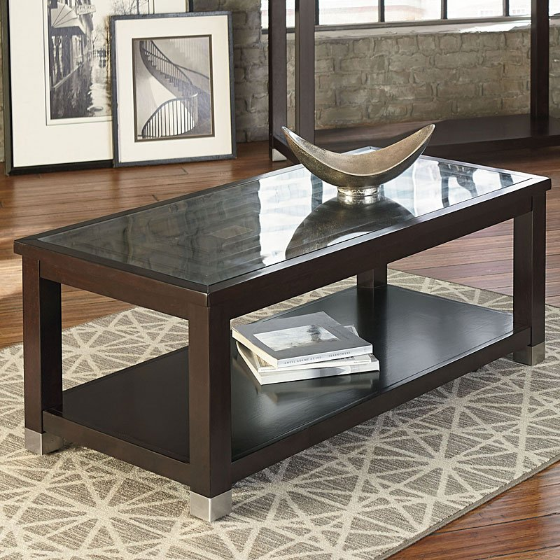 Colton Cocktail Table Standard Furniture Furniture Cart - Colton coffee table
