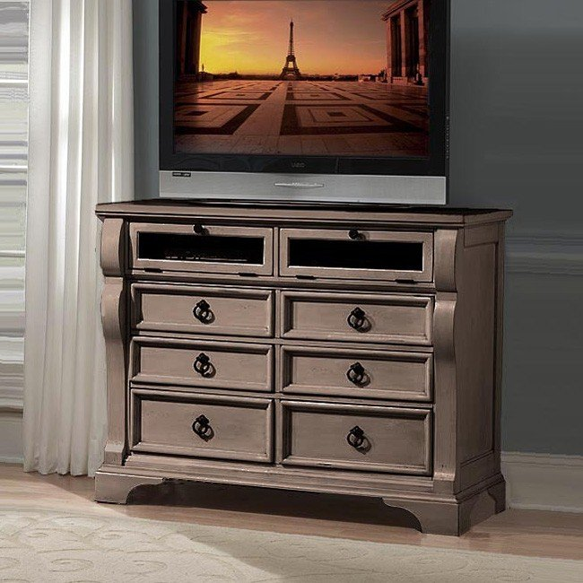 Heirloom Entertainment Chest (Pewter)