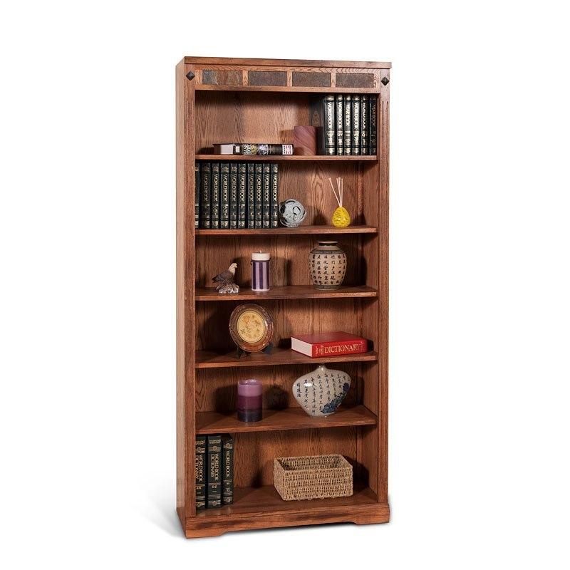 Sedona 60 Inch Bookcase Sunny Designs Furniture Cart