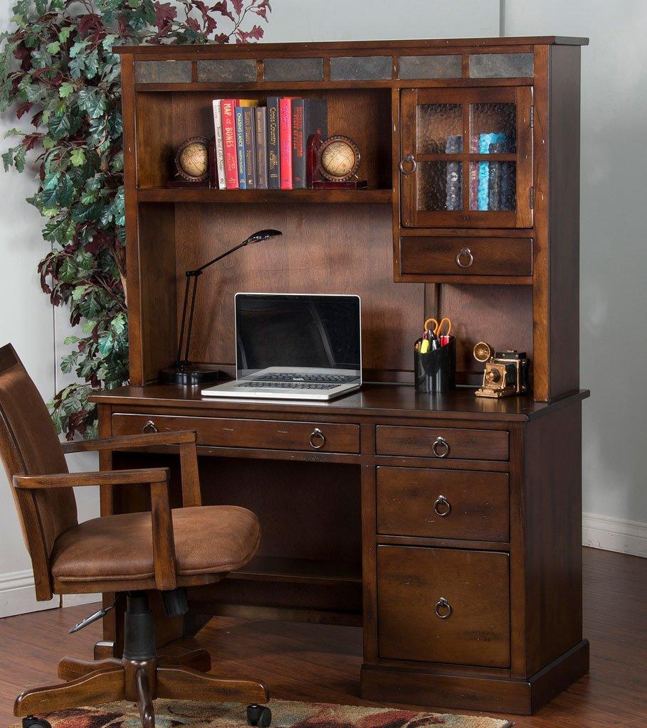 Peachy Santa Fe Computer Desk W Hutch Download Free Architecture Designs Scobabritishbridgeorg
