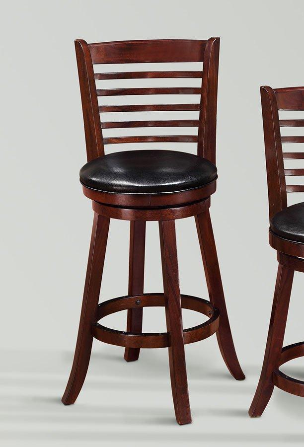 Simon Swivel Barstool Set Of 2 Crown Mark Furniture