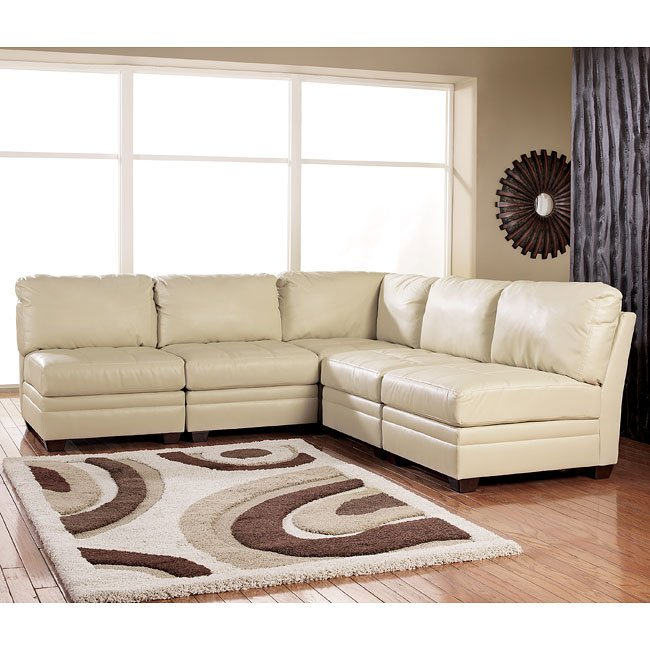 Modular Sectional Sofa Ashley: Ivory Modular Sectional Signature Design By Ashley