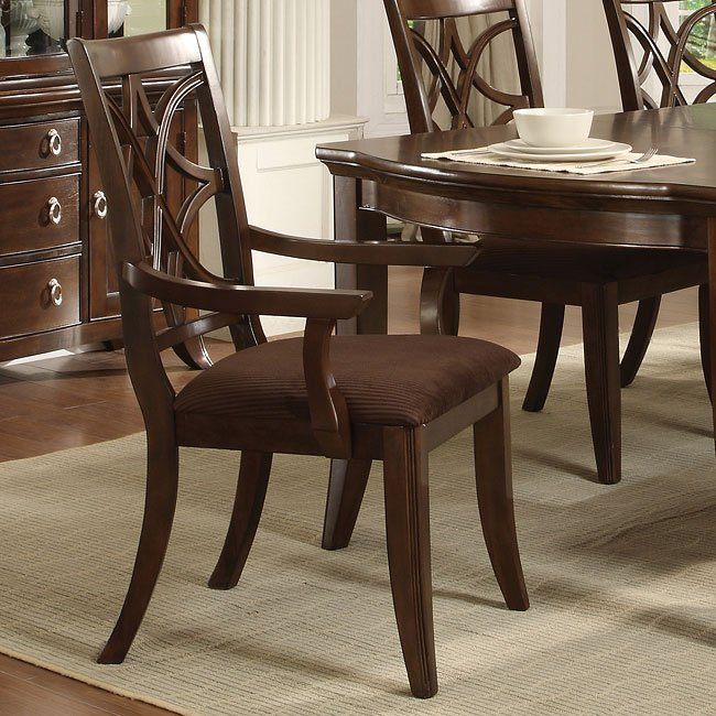 Society Hill Espresso Dining Room Set World Imports