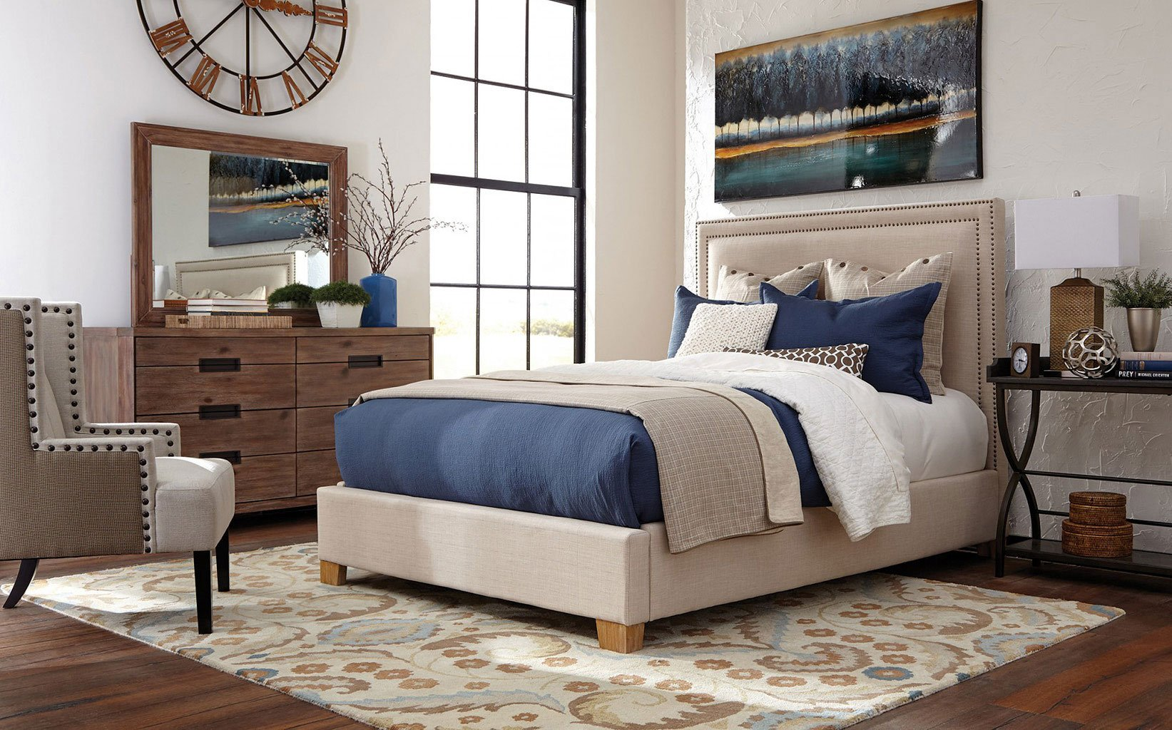Madeleine Upholstered Bedroom Set Coaster Furniture