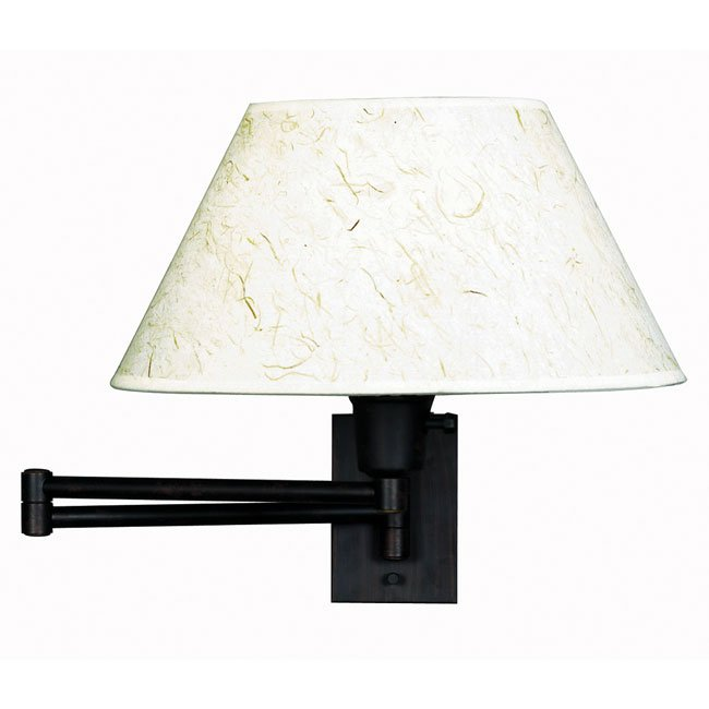 Simplicity Wall Swing Arm Lamp (Bronze)