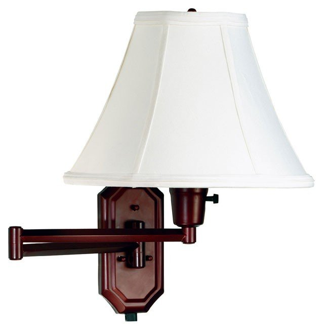 Nathaniel Wall Swing Arm Lamp (Bronze)