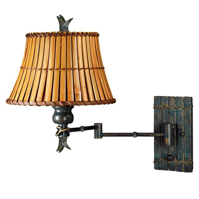 Kwai Wall Swing Arm Lamp (Bronze Heritage)