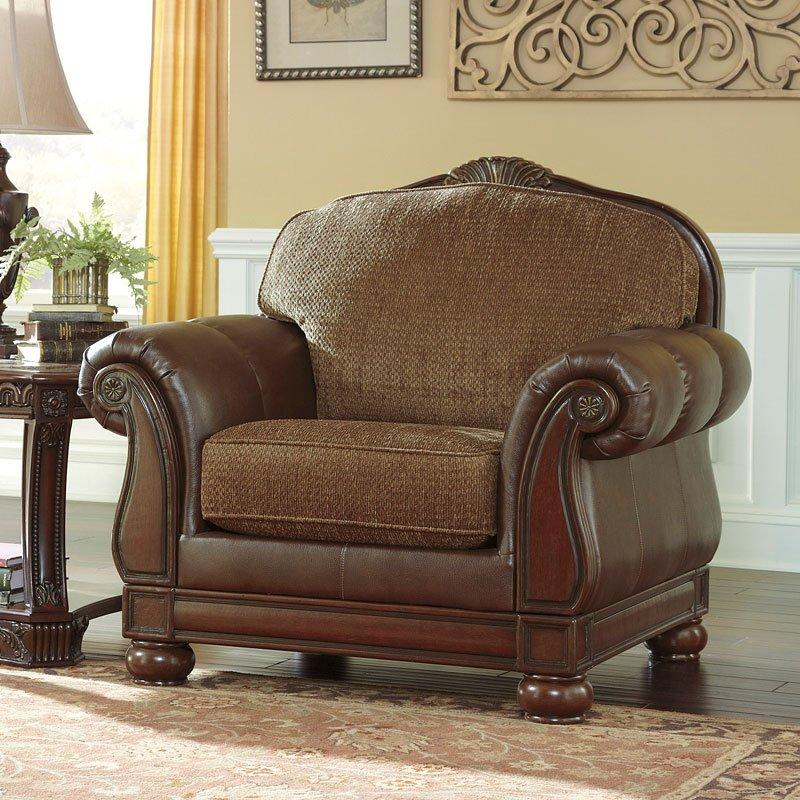 Ashley Furniture Danville Va: Beamerton Heights Chestnut Living Room Set Signature