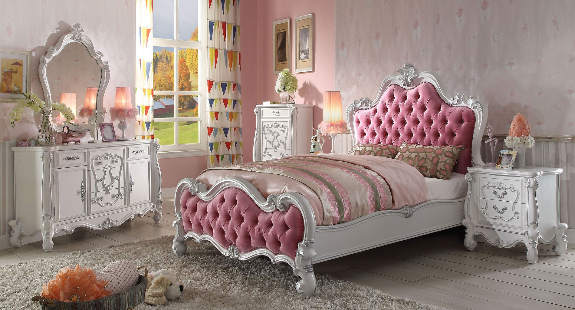 Versailles Youth Panel Bedroom Set